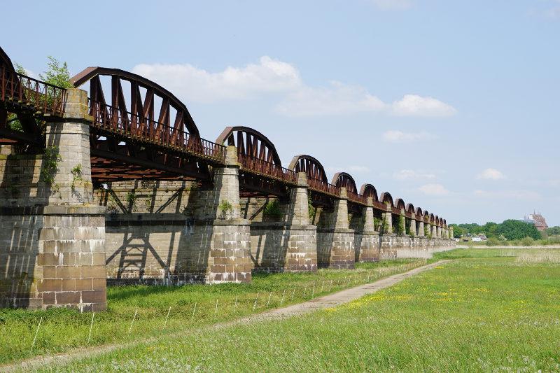 Dömitz Eisenbahnbrücke